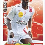 collection Adrenalyn Panini Foot Diakite
