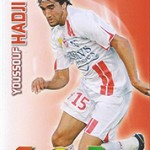 collection Adrenalyn Panini Foot Hadji 2
