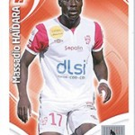 collection Adrenalyn Panini Foot Haidara