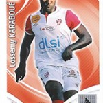 collection Adrenalyn Panini Foot Karaboue