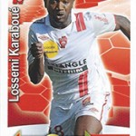 collection Adrenalyn Panini Foot Karaboue 2
