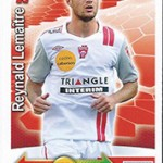 collection Adrenalyn Panini Foot Lemaitre