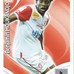 collection Adrenalyn Panini Foot Moukandjo