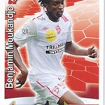 collection Adrenalyn Panini Foot Moukandjo 2