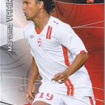 collection Adrenalyn Panini Foot Vahirua