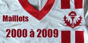 maillot 00 à 2009