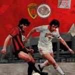 Affiche saison 1977 1978 - Finale de la Coupe de France - Nancy Nice