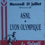 Affiche saison 1991 1992 Nancy Lyon 31 07 1991