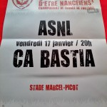 Affiche match ASNL 2013-2014 (Collection ; ASNL-Infos)