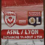 affiche saison 2016 2017 ASNL Lyon 14 08 2016