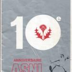 Brochure 10ème anniversaire - 1977