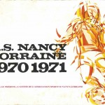 Brochure A.S. Nancy Lorraine  - Saison 1970-1971
