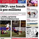 Est Républicain 21 02 2015 - ASNL Chateauroux