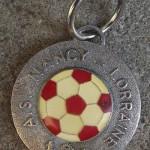 Porte-clé ASNL Coupe de France 1978 recto