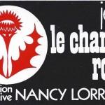 Autocollant Chardon Rouge
