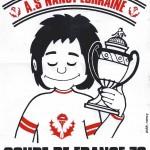 Autocollant Coupe de France 1978