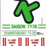 Autocollant - Saison 1977-1978