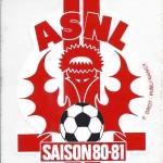 Autocollant - Saison 1980-1981
