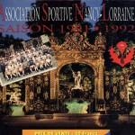 Brochure ASNL - Saison 1991-1992