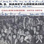 Calendrier 1973 1974