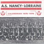 Calendrier 1975 1976