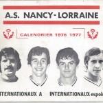 Calendrier 1976 1977