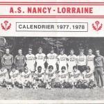 Calendrier 1977 1978