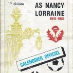 Calendrier 1985 1986