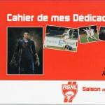 Carnet de mes dédicaces - Saison 2010-2011
