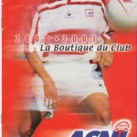 Catalogue ASNL - Saison 2000-2001