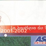 Catalogue ASNL - Saison 2001-2002