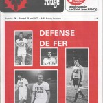 Chardon Rouge n°106 saison 76/77