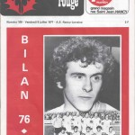 Chardon Rouge n°108 saison 76/77