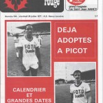 Chardon Rouge n°109 saison 77/78