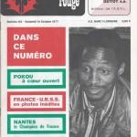 Chardon Rouge n°113 saison 77/78
