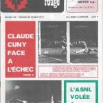 Chardon Rouge n°114 saison 77/78