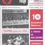 Chardon Rouge n°115 saison 77/78