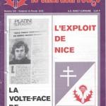 Chardon Rouge n°120 saison 77/78
