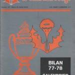 Chardon Rouge n°127 saison 77/78