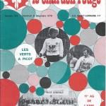 Chardon Rouge n°133 saison 78/79
