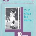 Chardon Rouge n°143 saison 79/80