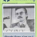 Chardon Rouge n°144 saison 79/80