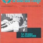 Chardon Rouge n°201 saison 83/84