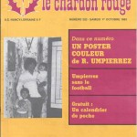Chardon Rouge n°202 saison 83/84