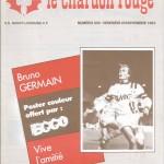 Chardon Rouge n°205 saison 83/84