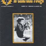 Chardon Rouge n°207 saison 83/84