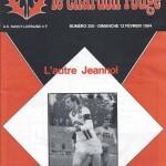 Chardon Rouge n°208 saison 83/84
