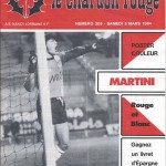 Chardon Rouge n°209 saison 83/84