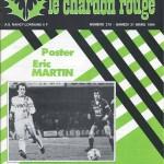 Chardon Rouge n°210 saison 83/84