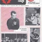 Chardon Rouge n°92 saison 76/77
